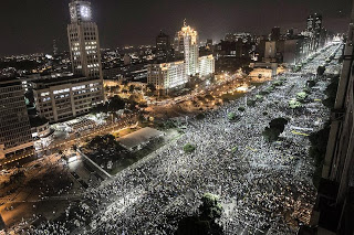 Χιλιάδες Βραζιλιάνοι διαδηλωτές στους δρόμους
