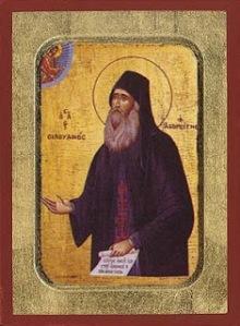 εικόνα αγίου Σιλουανού